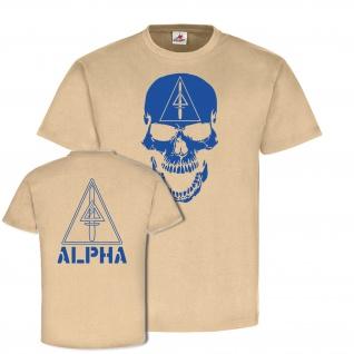 Alpha Delta Force US Army Skull Abzeichen Wappen Emblem Gruppe Hemd TShirt#22377