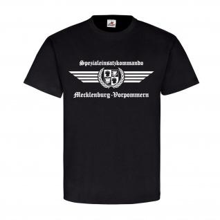 SEK Mecklenburg-Vorpommern Logo Spezialeinsatzkommando Polizei T-Shirt#23725