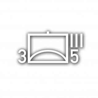 Taktische Zeichen 3 FlaRgt 5 Flugabwehrregiment BW Abzeichen 28x14cm #A4740