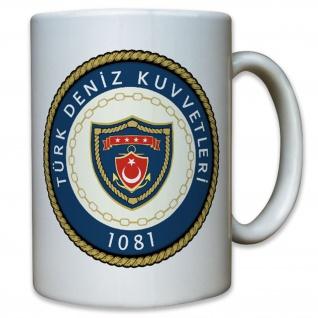 Türkische Marine Wappen Abzeichen Logo Türk Deniz Kuvvetleri - Tasse #12630