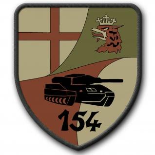 Patch PzBtl 154 Westerburg Wappen Bundeswehr Abzeichen Panzerbataillon #3247