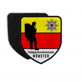 Feldjäger Dienstkommando Münster Bundeswehr MP FJg Btl Abzeichen Patch #32679