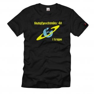 Kampfgeschwader 40 1. Gruppe KG Fliegertruppe WH Luftschlacht - T Shirt #1055