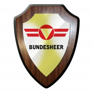 Wappenschild / Wandschild - Bundesheer Wappen Österreich Souvenir #9007