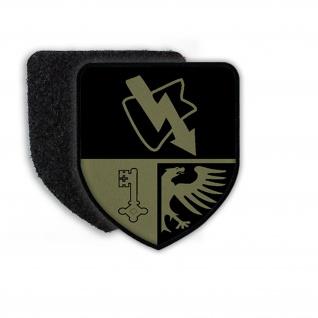 Patch FmBtl 910 Tarn Fernmelde-Bataillon Rheinbach Wappen Aufnäher #21348