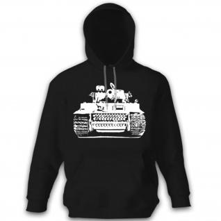 Tiger Panter Legende Panzerkampfwagen VI 6 - Kapuzenpullover #10648