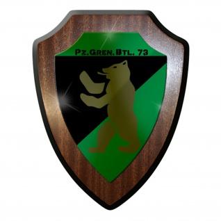 Wappenschild / Wandschild / Wappen - PzGrenBtl 73 Panzergrenadierbataillon #6987