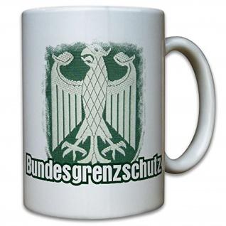 Bundesgrenzschutz Wappen Bundesrepublik Deutschland - Tasse #9789