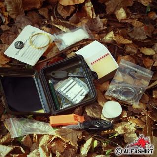 Survival Kit Wald Notfall Set Trecking Camping Multifunktionswerkzeug #16370 - Vorschau 3