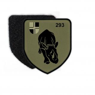 Patch PzBtl 293 TARN Bundeswehr Uniform Anzeichen Wappen Aufnäher Reserve #24650