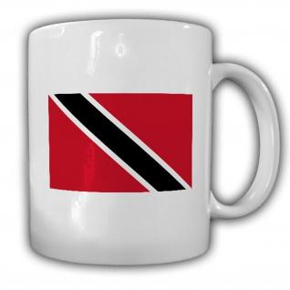 Tasse Trinidad und Tobago Fahne Flagge Kaffee Becher #13946