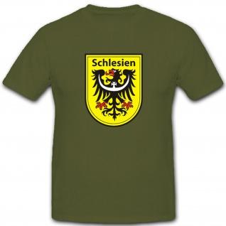 Schlesien Polen Deutschland Wappen Abzeichen Emblem - T Shirt #2156