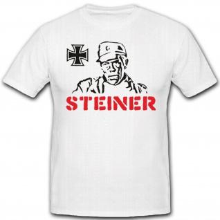 Steiner Eiserne Kreuz Film Kino WK Deutschland - T Shirt #2182