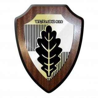Wappenschild - WL ErsBtl812 Wehrleitersatzbataillon Bundeswehr Abzeichen #11992