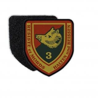 Patch 3 Bataillon der Ardennen-Jäger Klett Abzeichen Uniform #36214