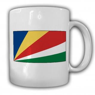 Republik Seychellen Fahne Flagge Kaffee Becher Tasse #13894