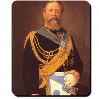 Friedrich III Freimaurerkleidung Kronprinz Deutschland Monarch Mauspad #16393