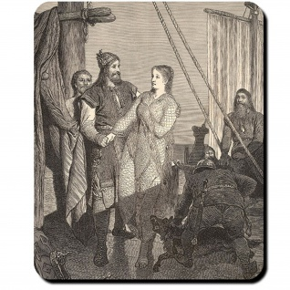 Ragnar Lodbrok Kraka Snorra Edda Aslaug Drachentöter Ivar Björn Mauspad #16118