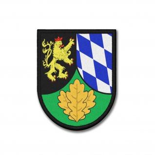 Patch JgBtl 862 Oberpfalz Jäger-Bataillon Bundeswerh Aufnäher 9x7cm #37355
