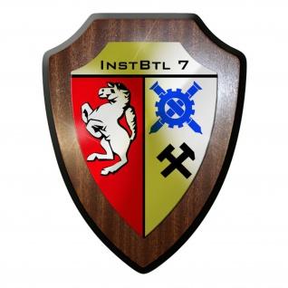 Wappenschild - Instandsetzungs Bataillon 7 InstBtl Instandsetzungsbataillon#8921