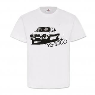 RS2000 Rennwagen Legende Rallye Sportwagen Tuning T Shirt #23587