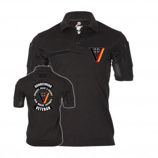 Tactical Polo VETERAN Bundeswehr Einsatz Mali Kosovo Afghanistan T-Shirt #34294