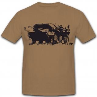 BW TPz Bundeswehr Transportpanzer Fuchs Militär Fahrzeug - T Shirt #5867