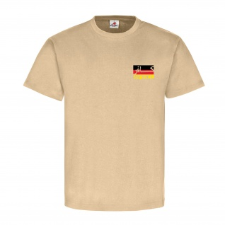 German Infidel Deutschland Fahne Ungläubiger ISAF Bundeswehr - T Shirt #13154