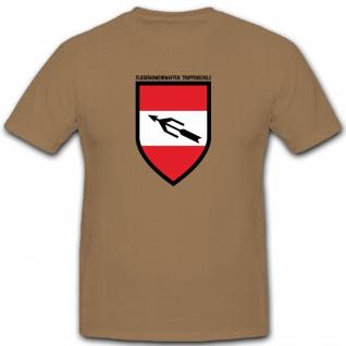 Wappen Abzeichen Österreichischen Fliegerabwehrwaffen Truppenschule T Shirt#3907