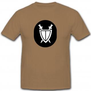 Militärjustiz Organe Abzeichen NVA DDR Militär Emblem Wappen - T Shirt #7913