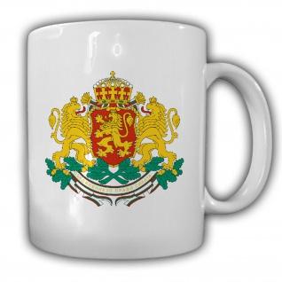 Bulgarien Wappen Republik Bulgarien Emblem - Tasse Becher Kaffee #13429