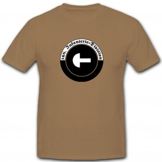 168 Infdiv 168 Infanterie Division Wh Wappen Abzeichen Emblem - T Shirt #3644