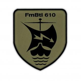 Patch / Aufnäher - FmBtl 610 Fernmeldebataillon Fernmelde Bataillon Bw #13299