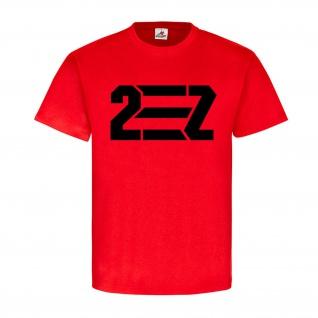 2-Z to EASY 2 two Hipster Student einfach zu leicht Nerd Retro - T Shirt #18586