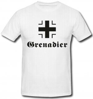 Balkenkreuz Heer Grenadier Eisernes Kreuz Hoheitszeichen Deutsch - T Shirt #486