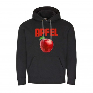 Apfel Pulli Frucht Obst Hoodie Hoody Fun Spass Humor Sommer Äpfel #23931