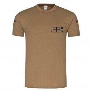 BW Tropen 7 SanRgt 12 Sanitätsregiment Einheit Taktische Zeichen Alfashirt#24040