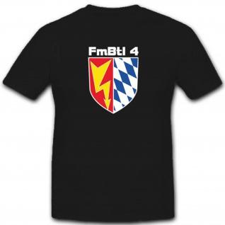 FmBtl 4 Fernmeldebataillon 4 Bundeswehr Wappen Abzeichen T Shirt #3361