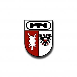 Aufkleber/Sticker PzPiKp 170 Wappen BW Militär Heer Einheit Panzer 7x5cm A1035
