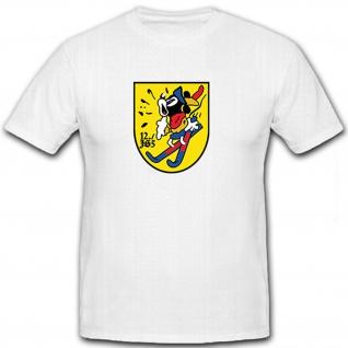 12. JG 5 Jagdgeschwader Luftwaffe WK 2 Wappen Abzeichen Emblem - T Shirt #8449