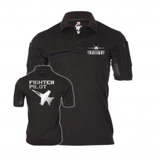 Tactical Polo F Eightteen Pilot Reflex Stealth Light Joint Alfashirt#35007