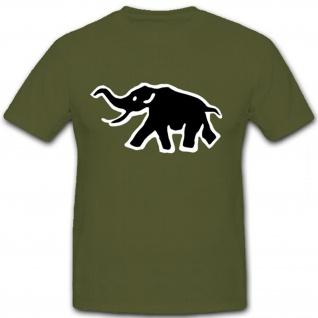 sPzAbt 502 Logo Tiger Panzer Taktisches Zeichen Elefant T Shirt #12652