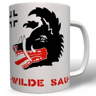 Jagdgeschwader 300 Wilde Sau Wildschwein Wappen Jäger Luftwaffe - Tasse #16732