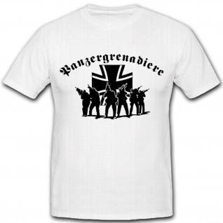Panzergrenadiere PzGren Elite Militär Bundeswehr Einheit T Shirt #2627
