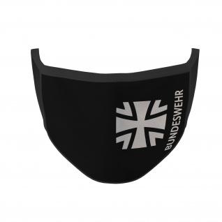 Mundmaske Bundeswehr Logo Insigne Kreuz BW Abzeichen Bedeckung #35904
