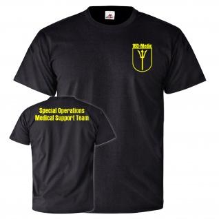 Special Operations Medical Support Team 18D Medic KSM Einheit T Shirt #25813