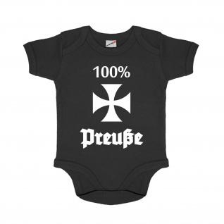 Baby Strampler 100% Preuße Preußisch Brandenburg Heimat #30653