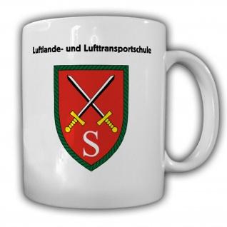 Luftlande- und Lufttransportschule Bundeswehr Wappen Abzeichen Tasse #13797