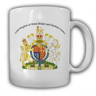 Tasse Vereinigtes Königreich united kingdom Wappen Emblem Kaffee Becher #14025