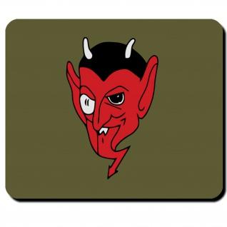Nahaufklärungsstaffel 1 (H)-11 Teufel Teufelskopf Wappen Staffel Mauspad #5670